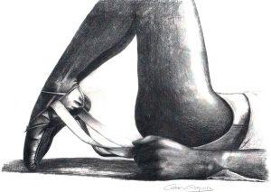 PREPARANDO - Papel lápiz - 40x30cm