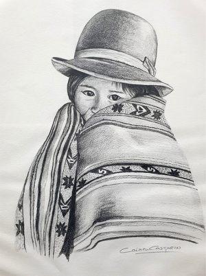 ARROYO - Papel lápiz - 33x46cm